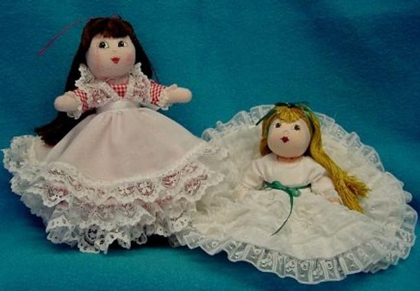 Darling - Cloth Doll Sewing Patterns by Judi Ward