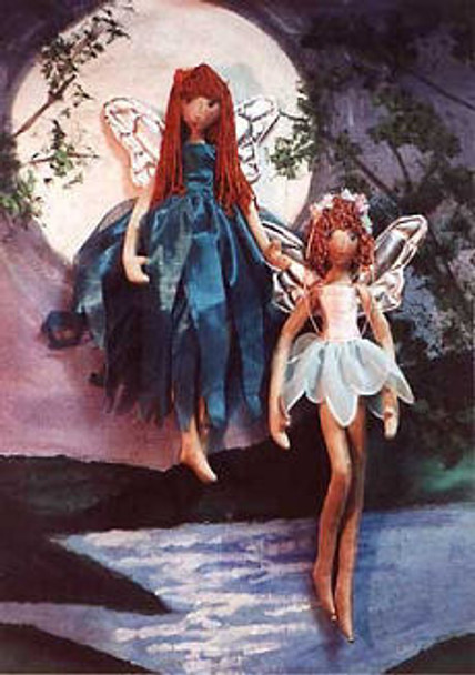 Sprite Fairy - Cloth Doll Sewing Pattern - Paper Mailed Pattern  by Julie McCullough