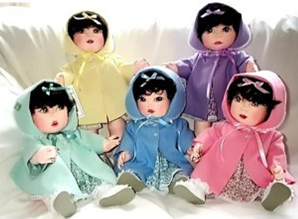Dionne - Vintage Baby Doll and/or Clothing Patterns by Judi Ward