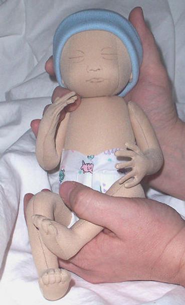 Preemie Baby Doll Pattern - Sewing Pattern by Sandy Eding