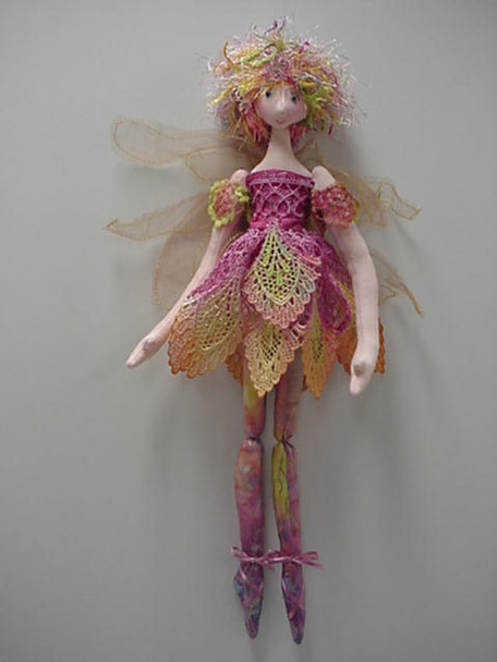 Ballerina Fairy - Cloth Doll Sewing Pattern - Paper Mailed Pattern by Julie McCullough
