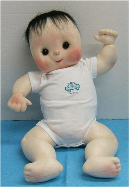 """Bare Baby ~ 20"""" Cloth Baby Doll Making E-Pattern - Download Sewing Pattern"""