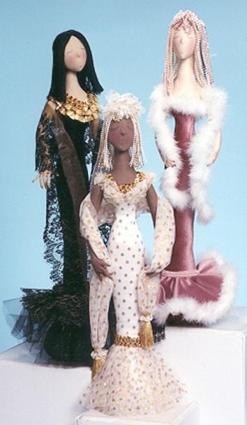 Serena  - Cloth Doll Sewing Pattern by Judi Ward