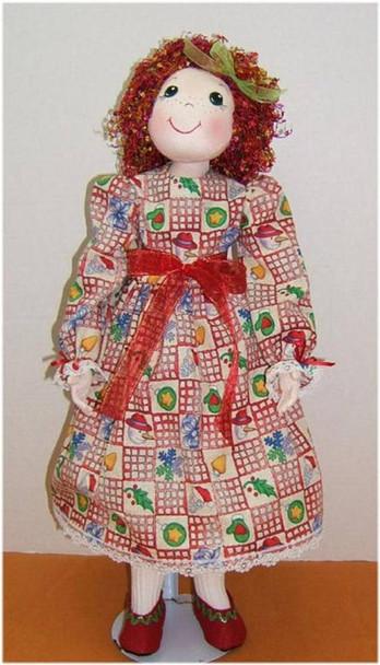 Noelle Noelle  - Cloth Doll e-Pattern - PDF Download Sewing Pattern