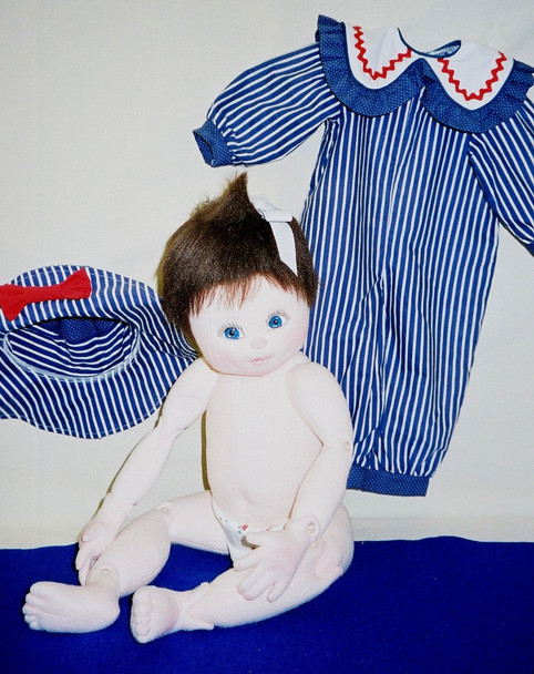 Baby Darby - Cloth Baby Doll Sewing Pattern by Judi Ward