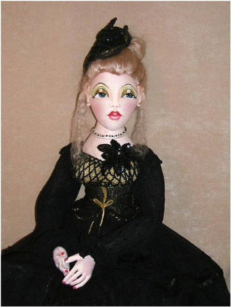 Candice, A Wonderful Bed Doll ~ Cloth Doll Making  e-Pattern - PDF Download Sewing Pattern
