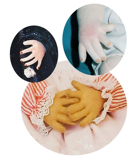 Designing Fingers For Cloth Dolls Using a Foolproof Method! By Judi Ward