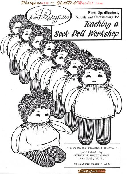 Teaching a Sock Doll Workshop - Download E-Workbook - PDF
