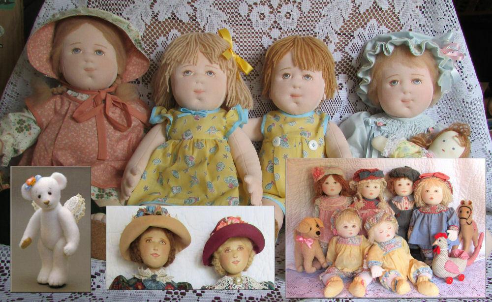 Adopted (Sold) Kezi Dolls