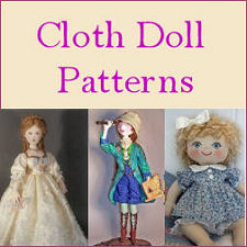 Cloth Doll Sewing Patterns at Dollmaker's Journey