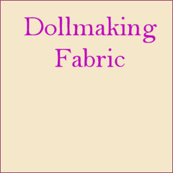 Cloth Doll Making Fabric