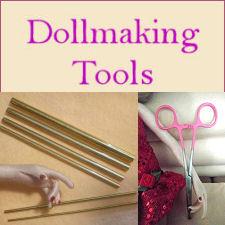 Doll Making Tools - Hemostats, Turning Tools and More!