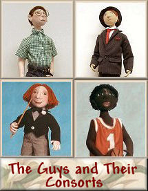 Guys and Their Consorts Cloth Doll Patterns by Judi Ward