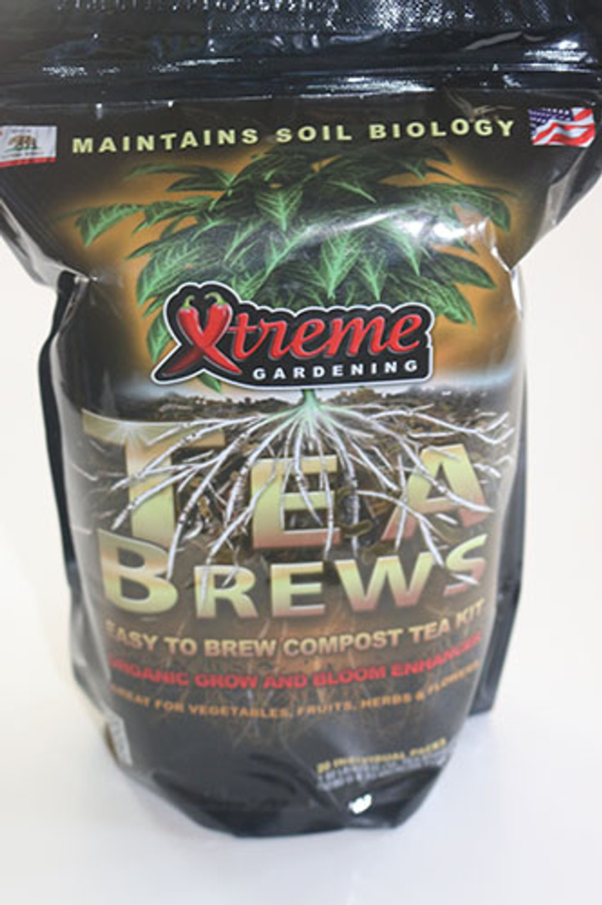 Compost Tea - Extreme Tea Brews