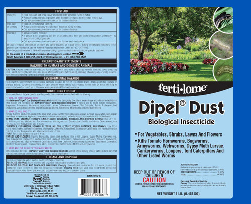 Dipel Dust (Ships Separately)