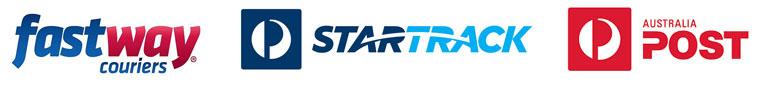 Shipping company logos