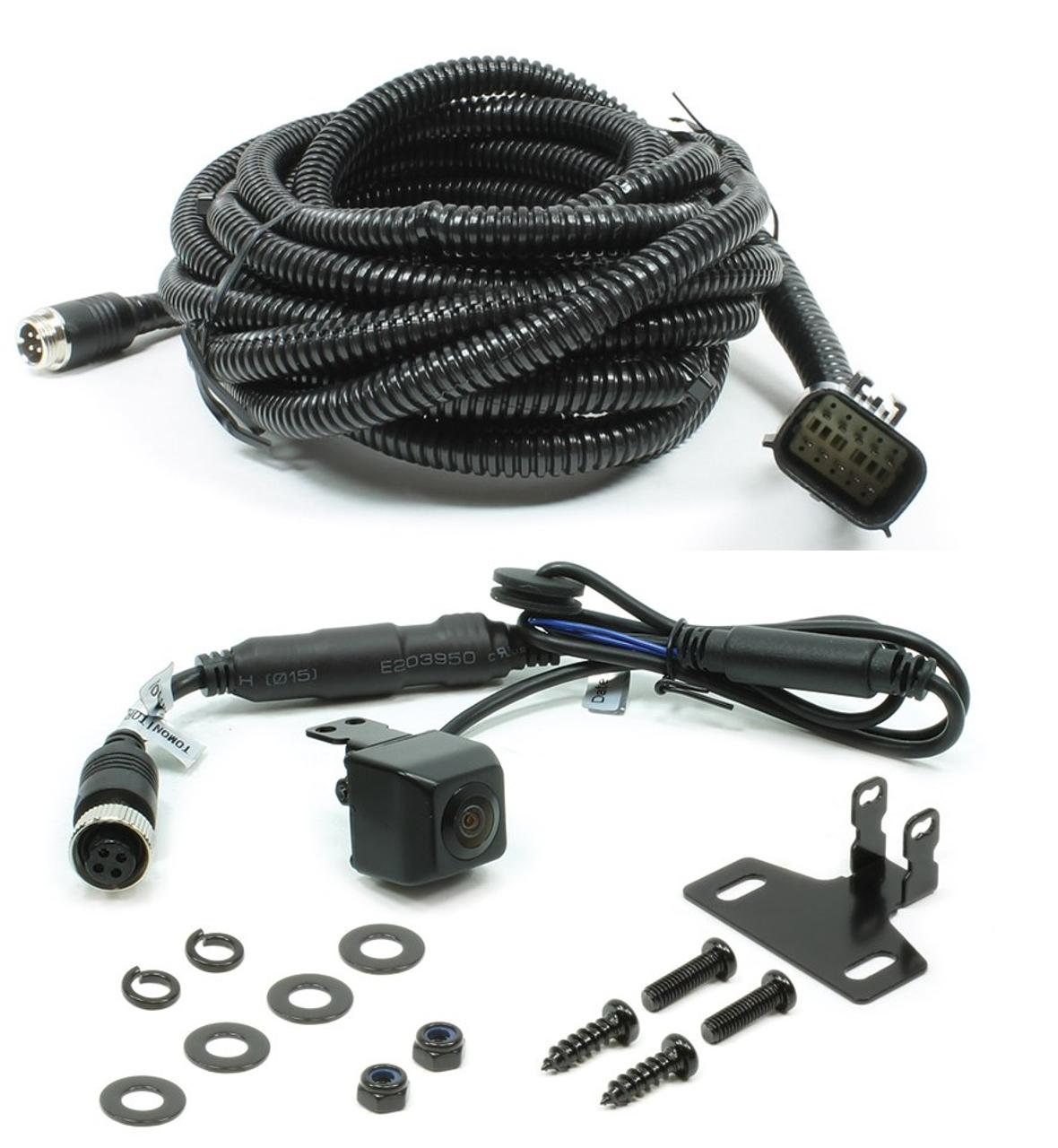 250-8630-tab 2013-2018 ram 1500-3500 tailgate replacement camera kit - m&r  electronics inc