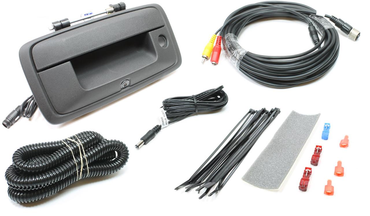 wiring harness for 2014 gmc sierra 250 8655 2014 2017 silverado   sierra tailgate handle camera m r  sierra tailgate handle camera