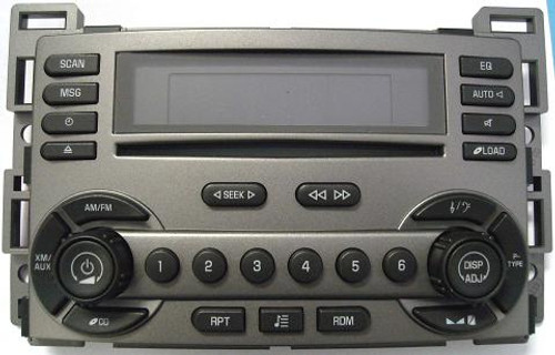 Delco Torrent CD6 Faceplate - Includes All Buttons,Trim & Circuit Board