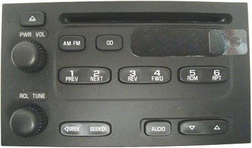 Delco CD Faceplate Complete With Faceplate , Buttons & Circuit Board