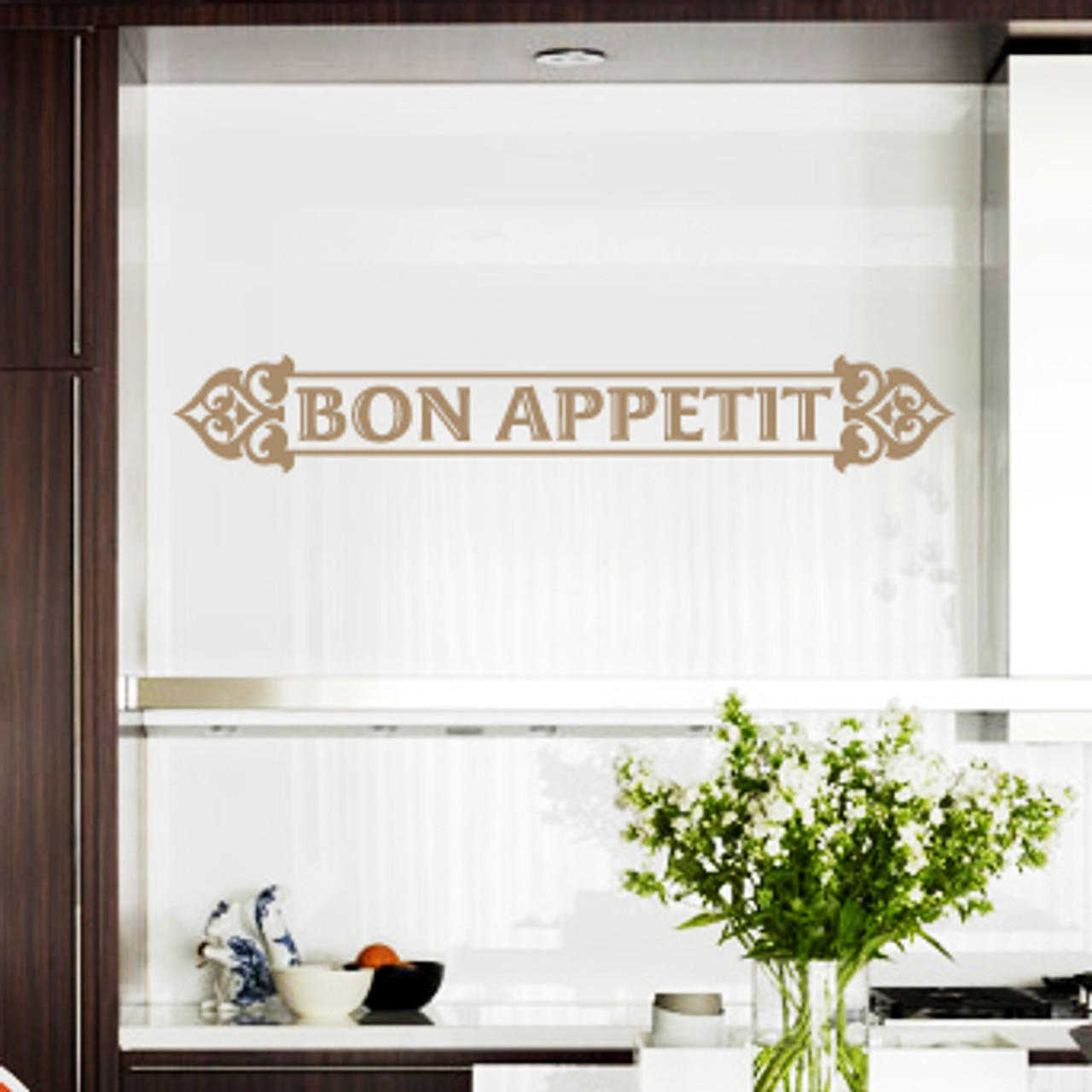 Bon Appetit 02 Wall Decal Decalmywall Com