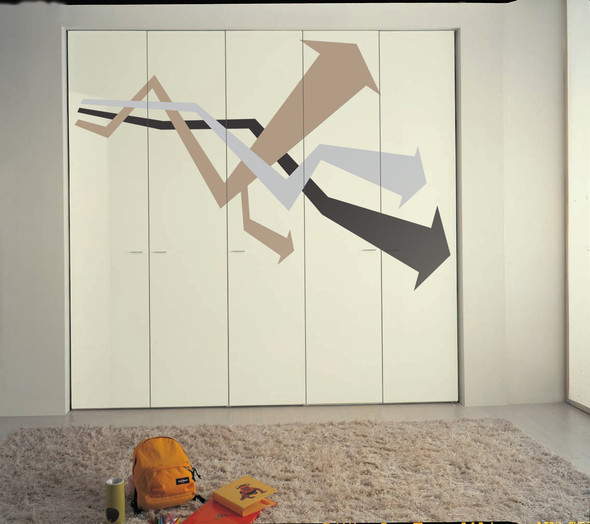 Urban Arrow Wall Decals