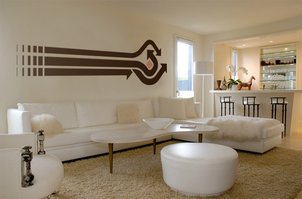 Arrows 3 Wall Decal