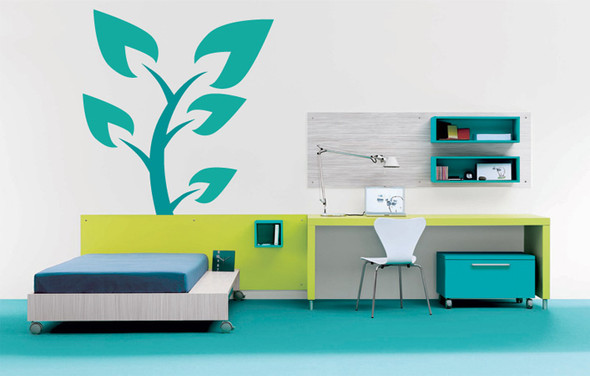 Spade Tree Wall Decals