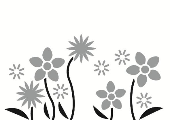 Flower Wall Decals