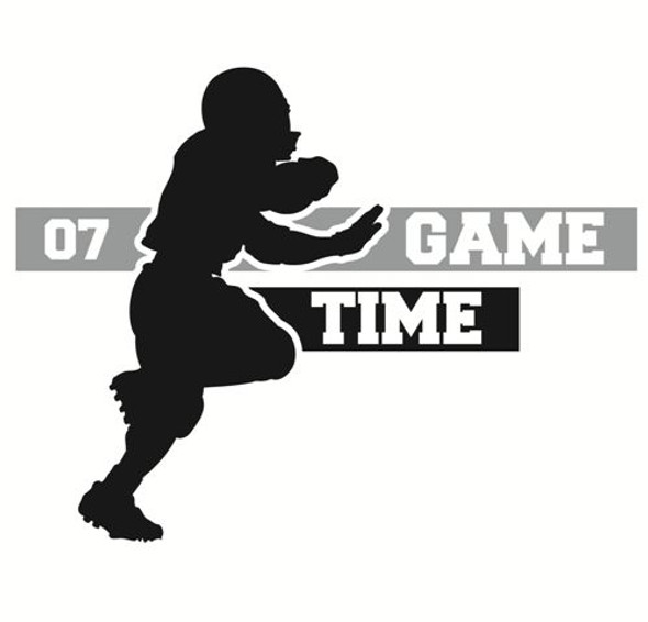Football Wall Decal 1