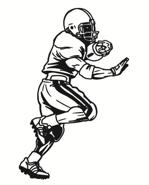 Football Wall Decal