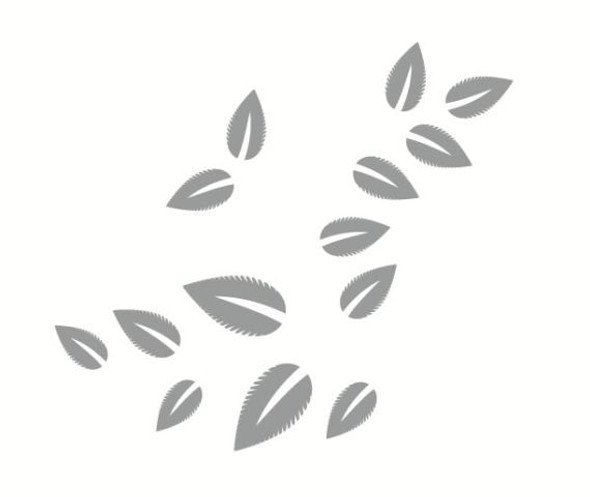 Wind-Blown Tree Wall Decals, Extra Leaves