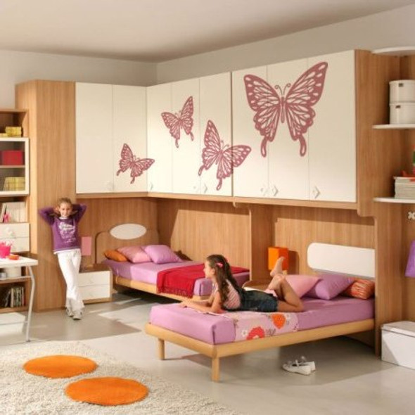 Nursery wall decals, kids wall decals, Wall decals for nursery, wall decals for kids, butterfly wall decals