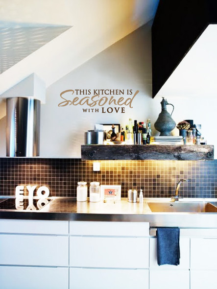 wall quotes, wall decal, kitchen wall decals
