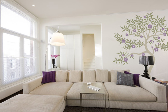 Oriental Blossom Tree Wall Decal