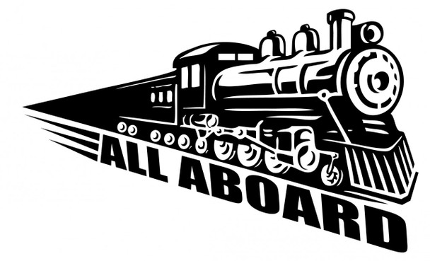 Kids Wall Decals, Train Wall Decals