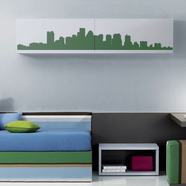 Boston Wall Decals