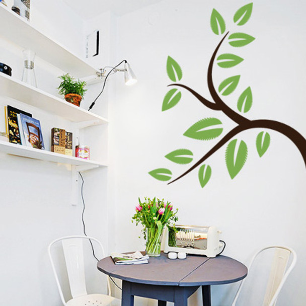 Wind-Blown Tree Wall Decals