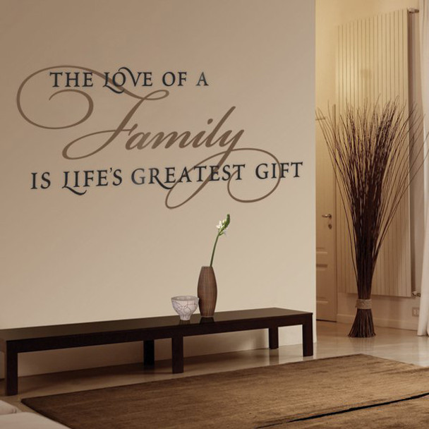 Love of a Family Wall Decal
