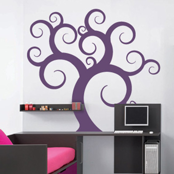 Gnarly Tree Wall Decals