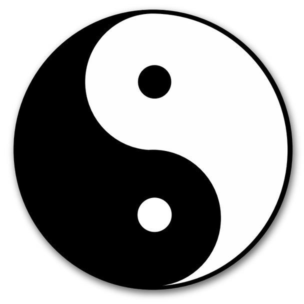 Ying Yang Wall Decal