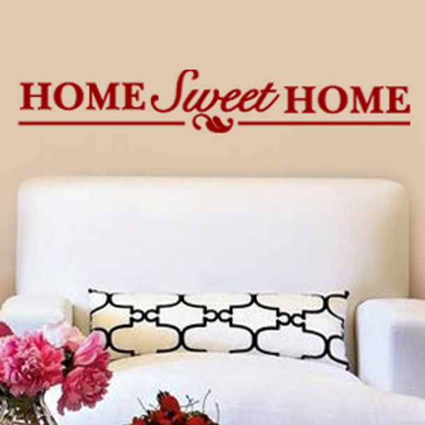 Wall Decal Expressions, Home Sweet Home Wall Decal