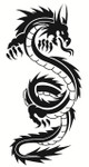 Urban Dragon Wall Decals