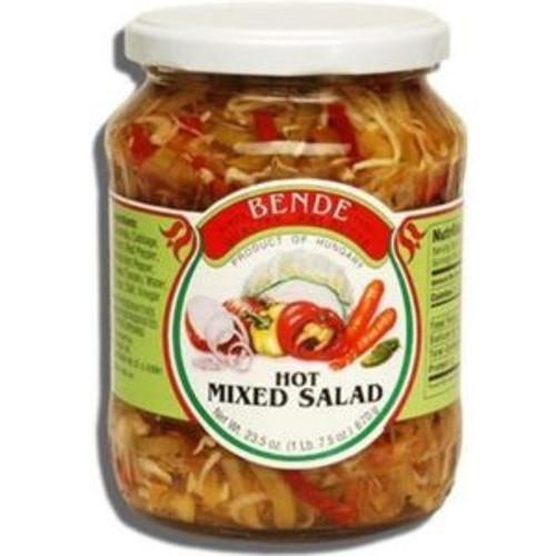 Bende Mixed Salad Hot 670g