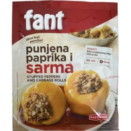 Podravka Fant Stuffed Pepper Seasoning Mix 60g