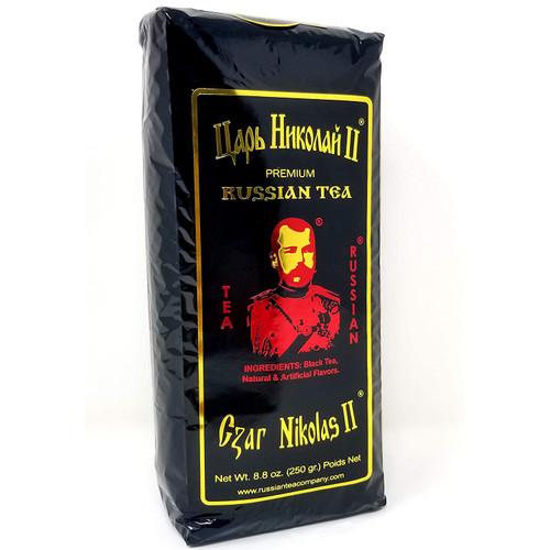 Tea Czar Nicholas II Premium Russian (Black), 8.8 oz / 250 g