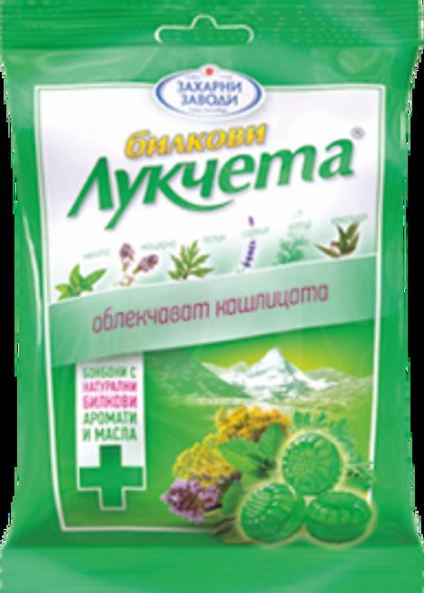 Candy Lukcheta Herbs 85g