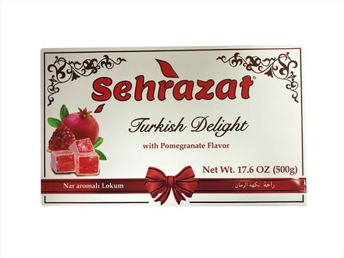 SEHRAZAT TURKISH DELIGHT WITH POMEGRANATE FLAVOR 500GR