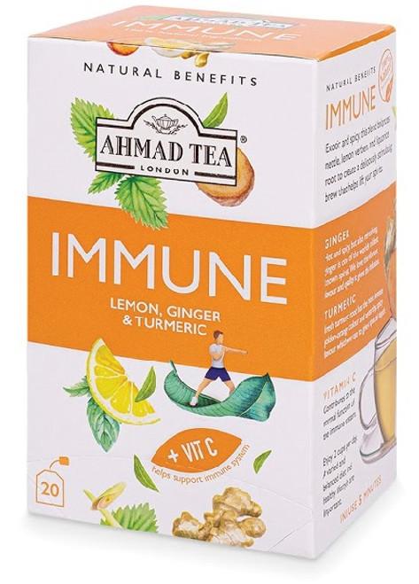 AHMAD NATURAL BENEFITS - IMMUNE TEA 20TB