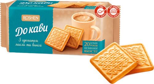 Roshen Vanilla Cookies for Coffee 185g
